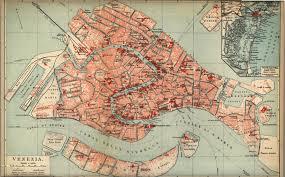 Mapa de Venecia