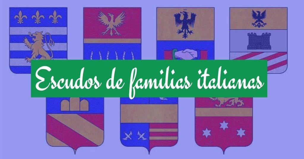 escudos de apellidos italianos