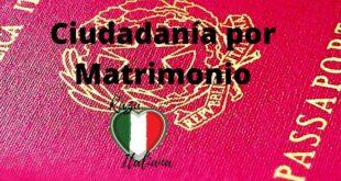 ciudadanía italiana por matrimonio