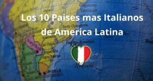 países mas italianos de américa latina