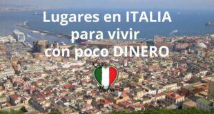 lugares en italia para vivir con poco dinero