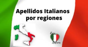 apellidos italianos por regiones
