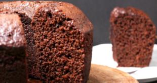 bizcochuelo de chocolate con avena