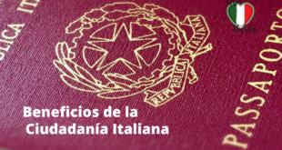 beneficios de la ciudadanía italiana