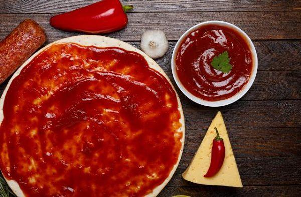 Salsa para pizza italiana