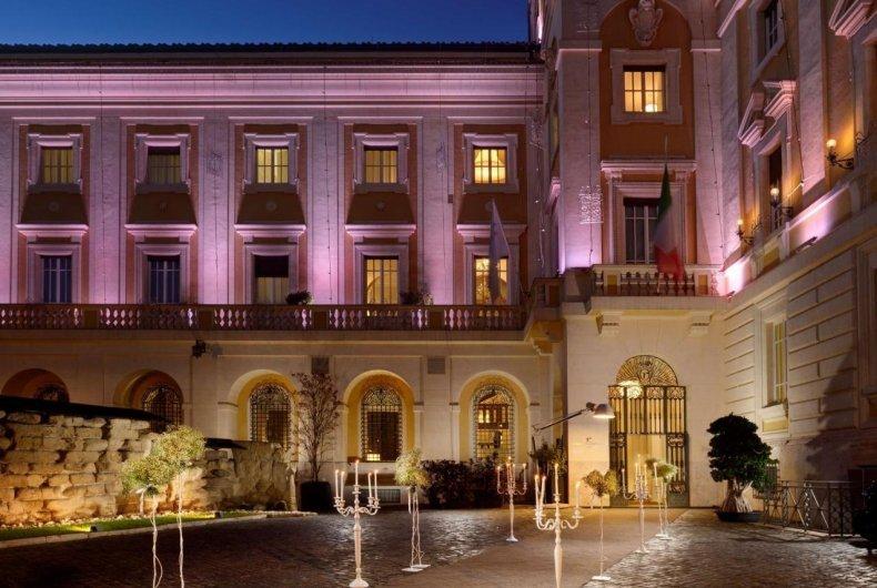 hoteles en roma italia